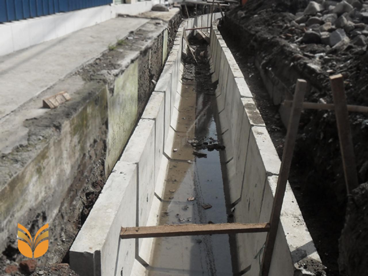aplikasi uditch di Purwakarta sebagai saluran air